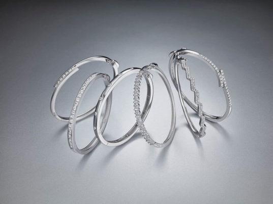 Comercial brazaletes de plata